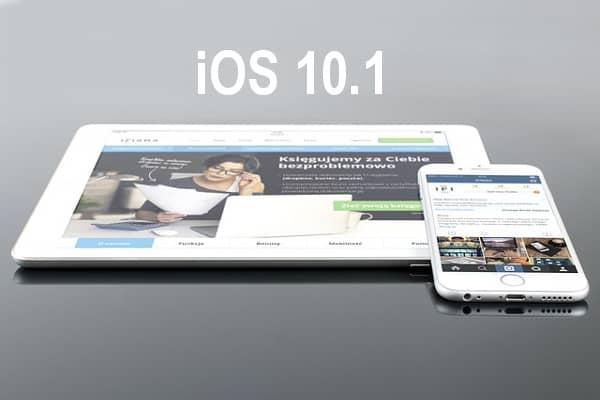 Rilasciato iOS 10.1