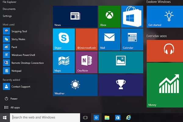 configurazione mail windows 10