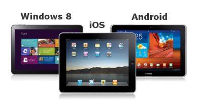 tablet android windows ios ipad