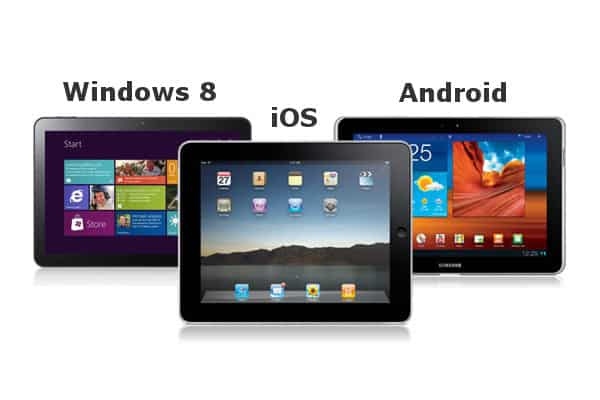 tablet android windows ios ipad