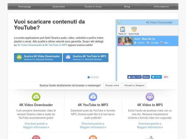 4kdownload - scaricare video da youtube