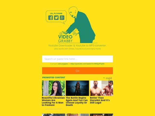 videograbby - scaricare video da youube
