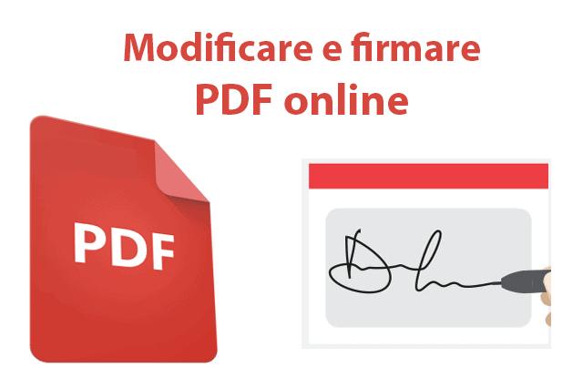 Come compilare, firmare e modificare i PDF online senza stamparli
